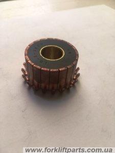 Колектор якоря електродвигуна гідравліки Юнгхайнріх 51061106
