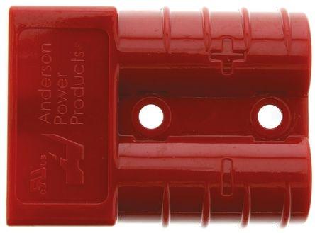 Роз'єм для АКБ Anderson Power Products SB50 50A 600V Червоний 24V 16мм2 купити замовити Київ Україна