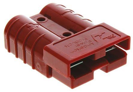Роз'єм для АКБ Anderson Power Products SB50 50A 600V Червоний 24V 6 / 4мм2 купити замовити Київ Україна