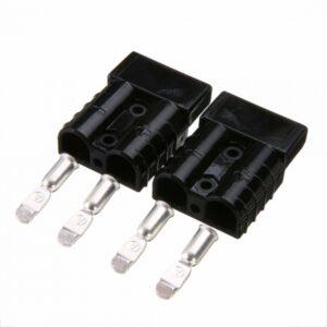 Роз'єм для АКБ Anderson Power Products SB50 50A 600V Чорний 80V 16 мм2 купити замовити Київ Україна