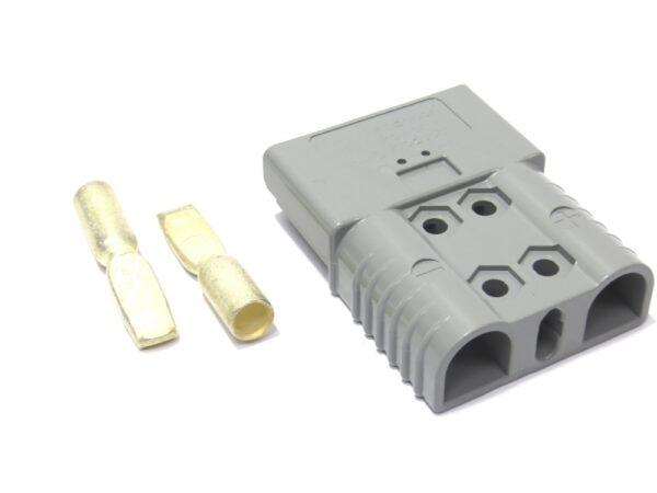 Роз'єм для АКБ Anderson Power Products SBE 160 160А Сірий 36V 50 мм2 купити замовити Київ Україна