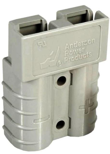 Разъем АКБ Anderson Power Products SB50 50A 600V Серый 36V 16 мм2 REMA Flat FT SR SRE SRX DIN TVH каталог Киев Украина Киеве