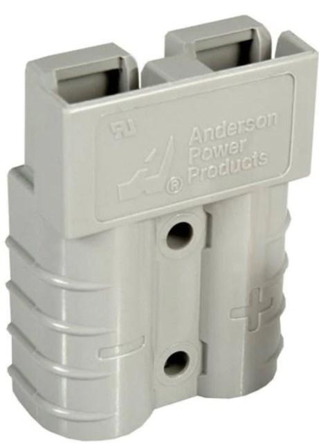 Разъем для АКБ Anderson Power Products SBX 175 175А Серый 36V 35 мм2 REMA Flat FT SR SRE SRX DIN TVH каталог Киев Украина Киеве