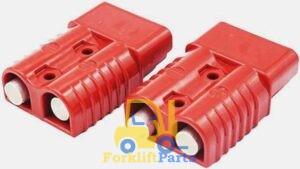 Разъем АКБ APP SB50 50A 600V Красный 24V 16 мм2 REMA Flat FT SR SRE SRX DIN TVH каталог Киев Украина Киеве